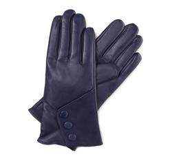 Перчатки женские кожаные Wittchen 39-6-286-GC, сливовый 39-6-286-GC