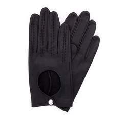 Rękawiczki damskie, czarny, 46-6-290-1-X, Zdjęcie 1