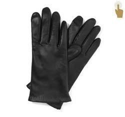 Rękawiczki damskie, czarny, 39-6-901-1-X, Zdjęcie 1