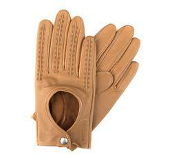 Rękawiczki damskie, jasny brąz, 46-6-290-6A-L, Zdjęcie 1