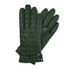 Rękawiczki damskie, zielony, 39-6-287-7T-S, Zdjęcie 1