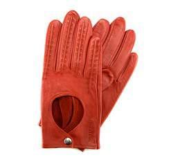 Rękawiczki damskie, ceglasty, 46-6-290-6-M, Zdjęcie 1