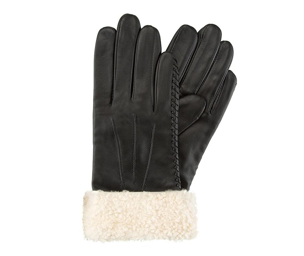 Перчатки женские кожаныеПерчатки женские кожаные<br><br>секс: женщина<br>Цвет: черный<br>Размер INT: M