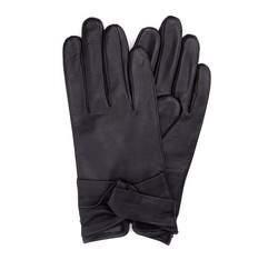 Rękawiczki damskie, czarny, 39-6-218-1-V, Zdjęcie 1