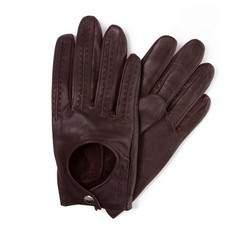 Rękawiczki damskie, ciemny brąz, 46-6-290-B-X, Zdjęcie 1