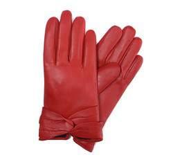 Rękawiczki damskie, czerwony, 39-6-218-2T-X, Zdjęcie 1