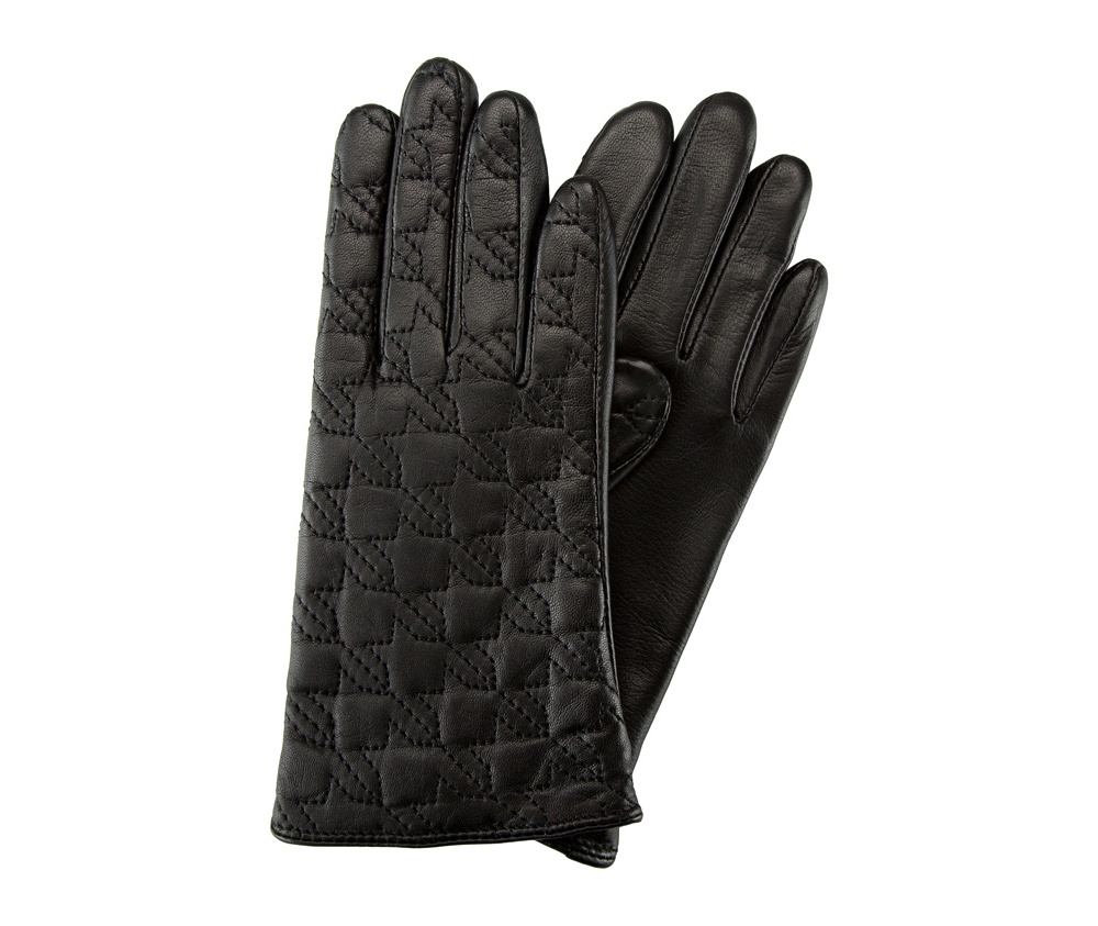 Перчатки женские кожаные Wittchen 39-6-289-1, черныйПерчатки женские кожаные<br><br>секс: женщина<br>Цвет: черный<br>Размер INT: M<br>материал:: Натуральная кожа