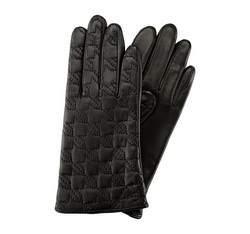 Перчатки женские кожаные Wittchen 39-6-289-1, черный 39-6-289-1
