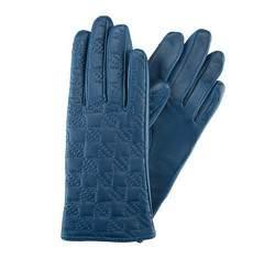 Rękawiczki damskie, granatowy, 39-6-289-GN-S, Zdjęcie 1