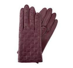 Rękawiczki damskie, fioletowy, 39-6-289-P-L, Zdjęcie 1