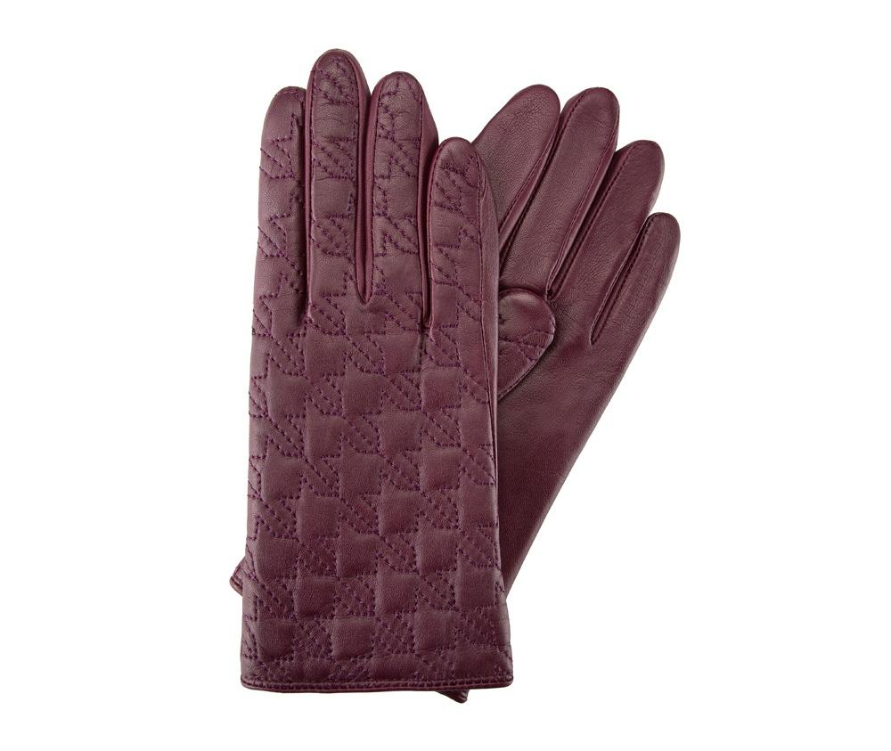 Перчатки женские кожаныеПерчатки женские кожаные<br><br>секс: женщина<br>Цвет: фиолетовый<br>Размер INT: S<br>материал:: Натуральная кожа
