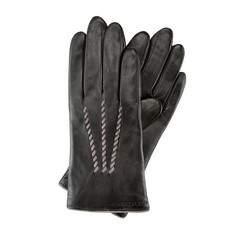 Перчатки женские кожаные Wittchen 39-6-290-1, черный 39-6-290-1