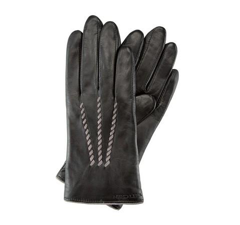 Rękawiczki damskie, czarny, 39-6-290-1-V, Zdjęcie 1