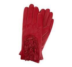 Перчатки женские кожаные Wittchen 39-6-518-2T, красный 39-6-518-2T