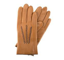 Rękawiczki damskie, jasny brąz, 39-6-290-L-S, Zdjęcie 1