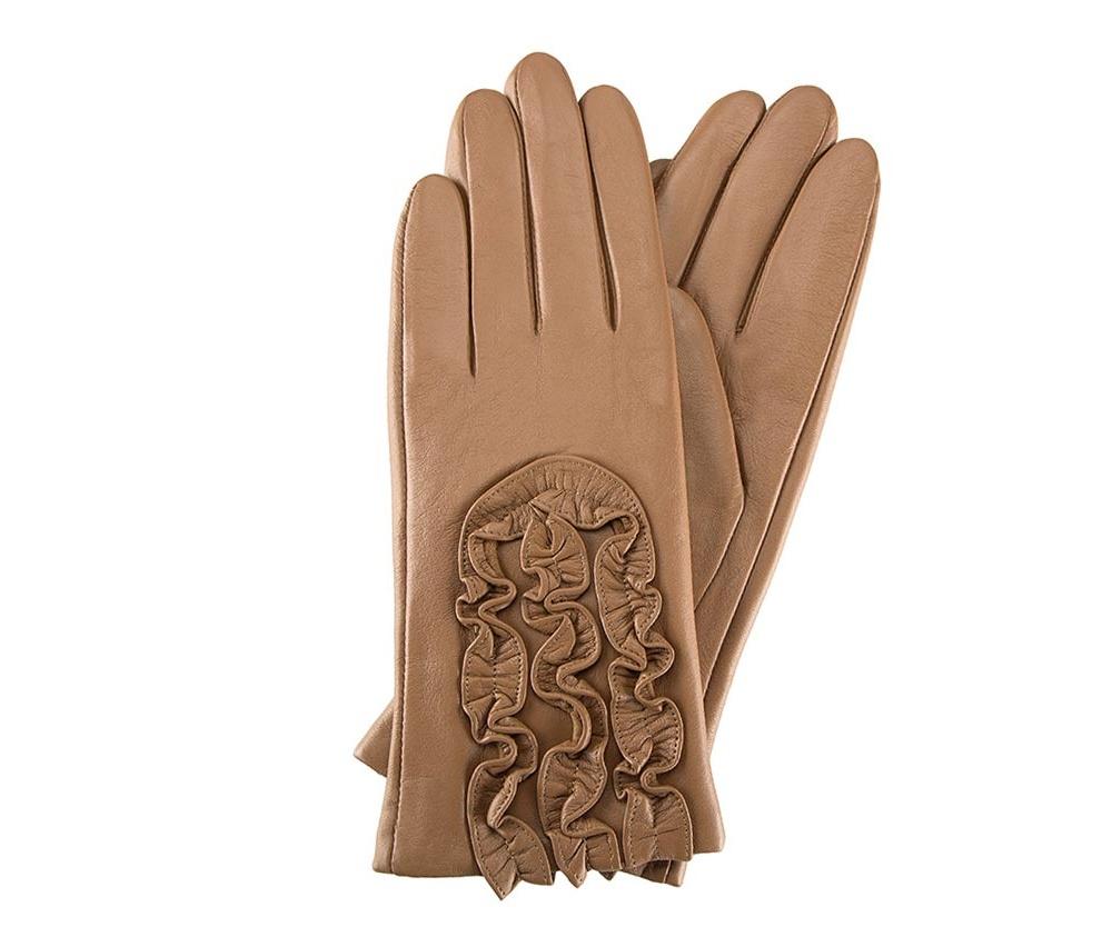 Перчатки женские кожаные Wittchen 39-6-518-L, светло-коричневыйПерчатки женские кожаные<br><br>секс: женщина<br>Цвет: коричневый<br>Размер INT: XL<br>материал:: Натуральная кожа