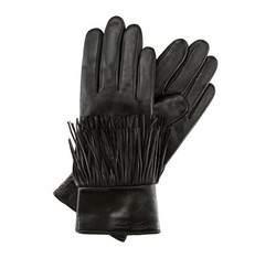 Перчатки женские кожаные Wittchen 39-6-292-1, черный 39-6-292-1