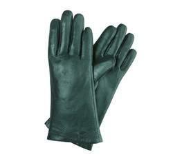 Rękawiczki damskie, zielony, 39-6-224-BM-S, Zdjęcie 1