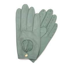 Rękawiczki damskie, niebieski, 46-6-291-CB-M, Zdjęcie 1