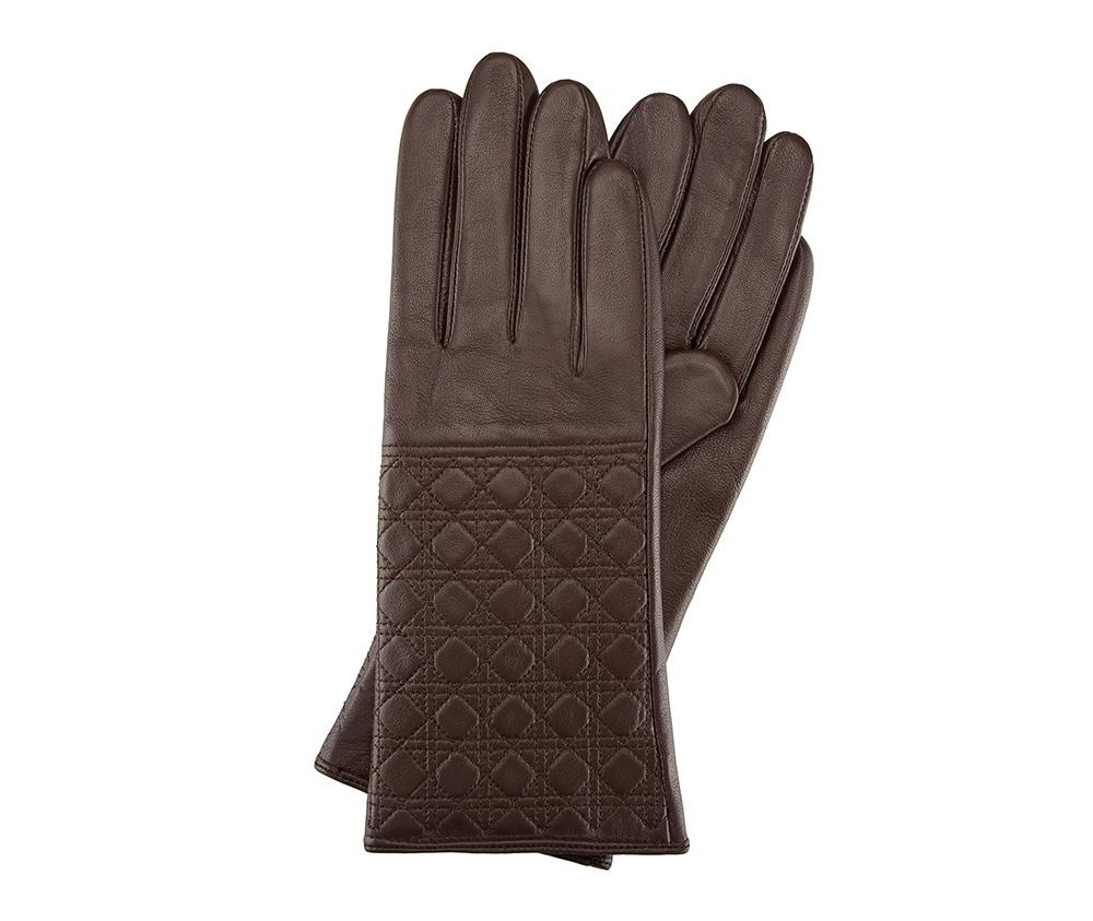 Перчатки женские кожаныеПерчатки женские кожаные<br><br>секс: женщина<br>Цвет: коричневый<br>Размер INT: XL