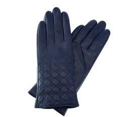 Rękawiczki damskie, granatowy, 39-6-520-GN-L, Zdjęcie 1