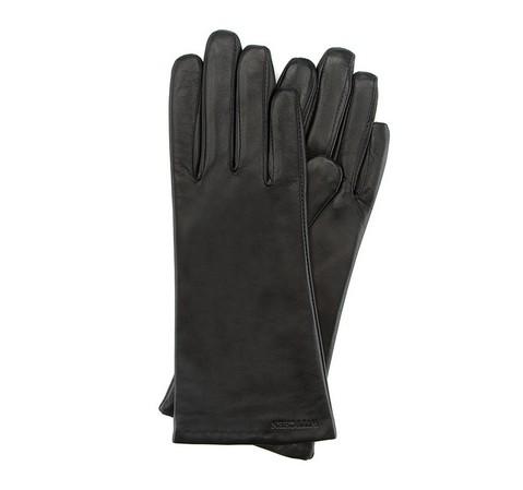 Rękawiczki damskie, czarny, 39-6-200-1-V, Zdjęcie 1