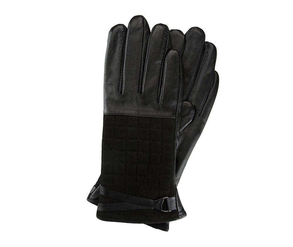 Перчатки женские кожаные Wittchen 39-6-521-1, черныйПерчатки женские кожаные<br><br>секс: женщина<br>Цвет: черный<br>Размер INT: L