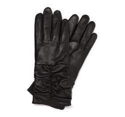Rękawiczki damskie, czarny, 44-6-633-1-M, Zdjęcie 1