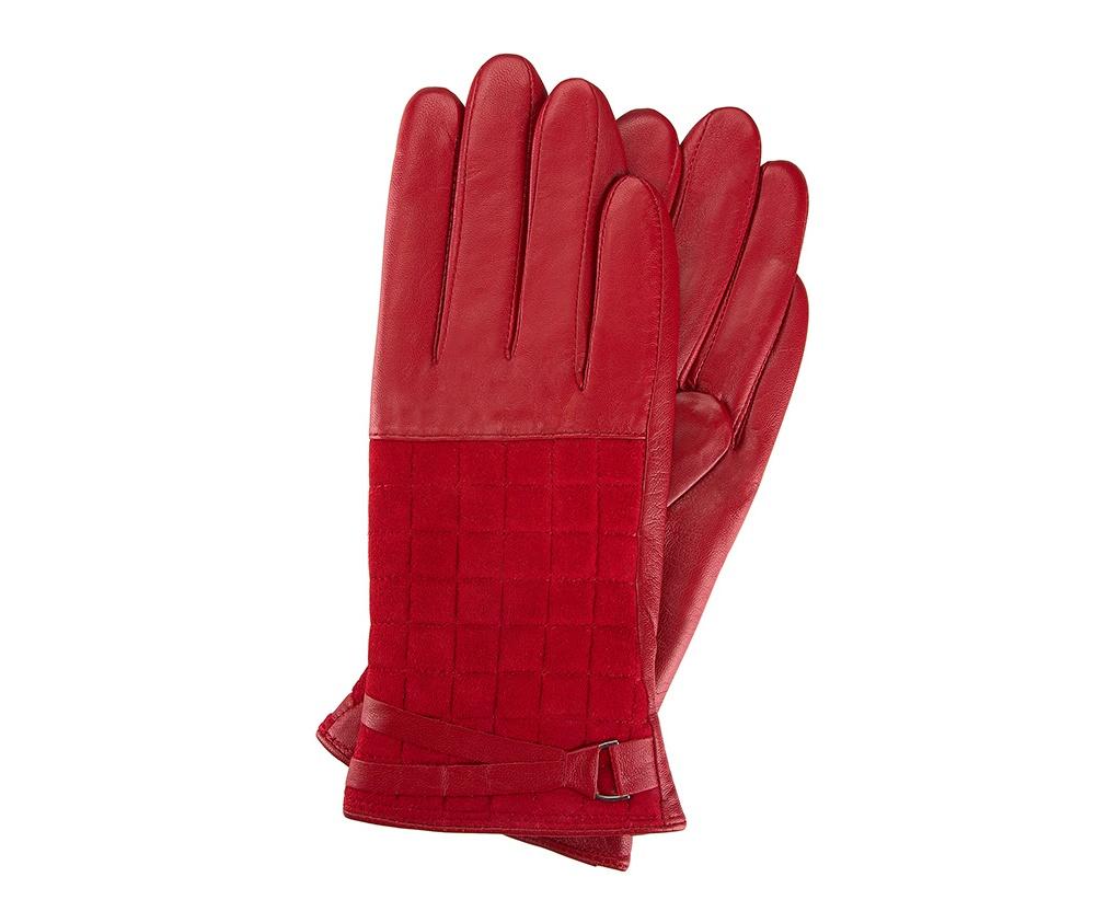 Перчатки женские кожаные Wittchen 39-6-521-2T, красныйПерчатки женские кожаные<br><br>секс: женщина<br>Размер INT: L