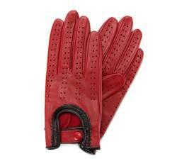 Rękawiczki damskie, czerwony, 46-6-292-2T-X, Zdjęcie 1