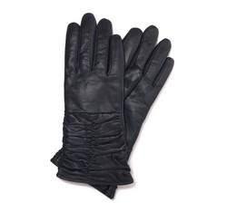 Rękawiczki damskie, śliwkowy, 44-6-633-GC-S, Zdjęcie 1