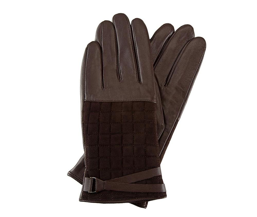 Перчатки женские кожаныеПерчатки женские кожаные<br><br>секс: женщина<br>Цвет: коричневый<br>Размер INT: L