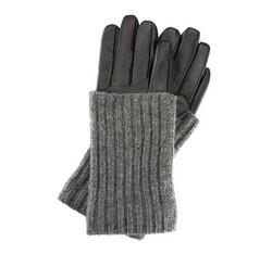 Rękawiczki damskie, czarny, 39-6-526-1-S, Zdjęcie 1