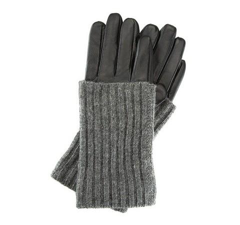 Rękawiczki damskie, czarny, 39-6-526-1-V, Zdjęcie 1