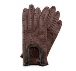 Rękawiczki damskie, ciemny brąz, 46-6-292-D-X, Zdjęcie 1