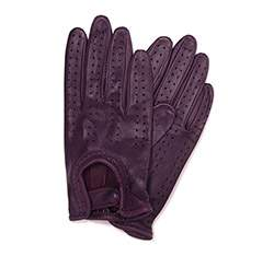 Rękawiczki damskie, śliwkowy, 46-6-292-P-M, Zdjęcie 1