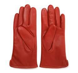 Rękawiczki damskie, czerwony, 39-6-202-2T-L, Zdjęcie 1
