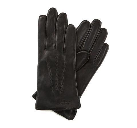 Rękawiczki damskie, czarny, 39-6-264-1-V, Zdjęcie 1