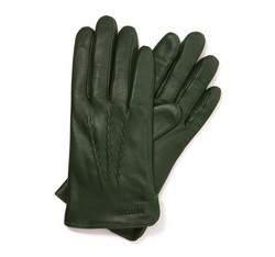 Перчатки женские кожаные Wittchen 39-6-264-7T, зеленый 39-6-264-7T