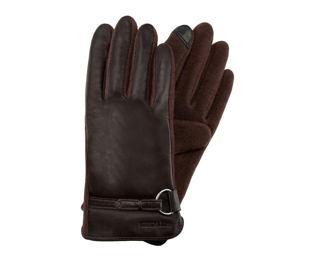 Купить Перчатки женские кожаные Wittchen, Германия, коричневый