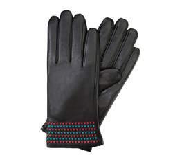 Rękawiczki damskie, czarny, 39-6-527-1-L, Zdjęcie 1