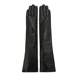 Women's gloves, black, 45-6L-230-1-L, Photo 1