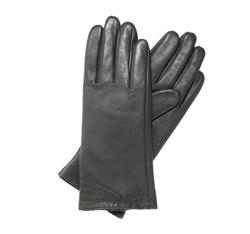 Rękawiczki damskie, szary, 39-6L-224-S-L, Zdjęcie 1