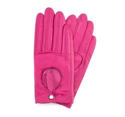 Rękawiczki damskie, różowy, 46-6L-290-2-M, Zdjęcie 1