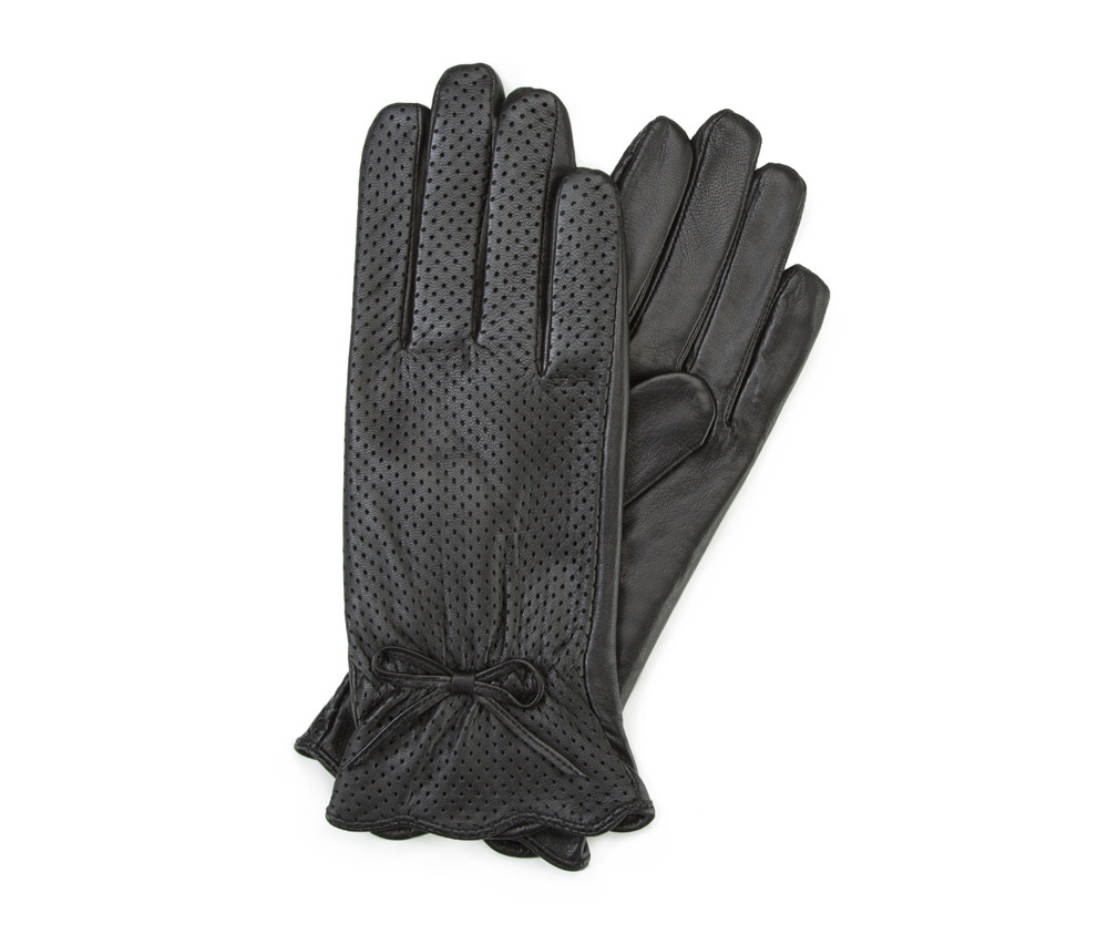 Перчатки женские кожаные Wittchen 45-6-517-1, черныйПерчатки женские кожаные<br><br>секс: женщина<br>Цвет: черный<br>Размер INT: S<br>вид:: неутепленные<br>материал:: Натуральная кожа