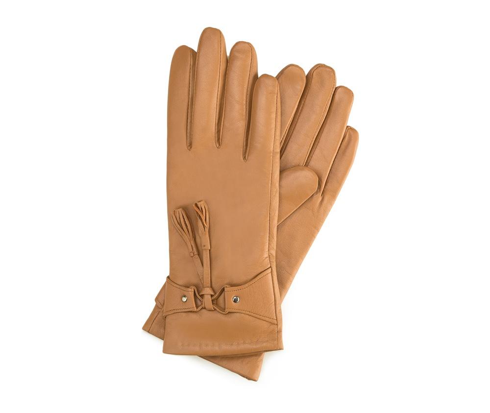Перчатки женские кожаные Wittchen 39-6-537-L, бежевыйПерчатки женские кожаные<br><br>секс: женщина<br>Цвет: бежевый<br>Размер INT: M