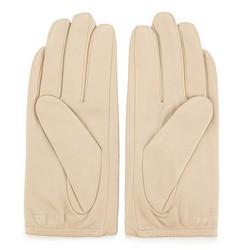 Women's gloves, light beige, 45-6-523-A-M, Photo 1