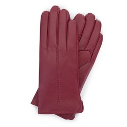Gloves, burgundy, 39-6-641-33-X, Photo 1