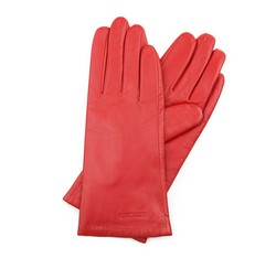 Rękawiczki damskie, czerwony, 39-6L-201-2T-S, Zdjęcie 1