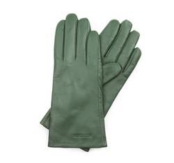 Rękawiczki damskie, zielony, 39-6L-201-Z-M, Zdjęcie 1